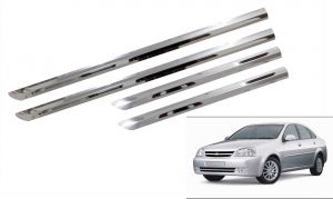 Side beading for cars - Trigcars Chevrolet Optra Old Car Steel Chrome Side Beading