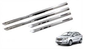 Side beading for cars - Trigcars Chevrolet Sail Car Steel Chrome Side Beading