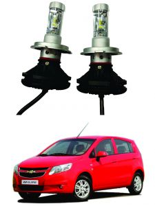 Headlights and bulbs - Trigcars Chevrolet UVA Car Glass Led Head Light