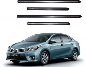 Side beading for cars - Trigcars Toyota Corolla Altis Car Side Beading