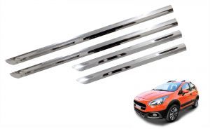 Side beading for cars - Trigcars Fiat Avventura Car Steel Chrome Side Beading