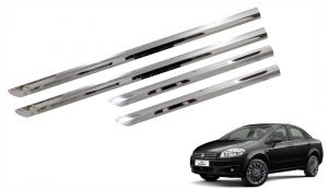 Side beading for cars - Trigcars Fiat Linea Car Steel Chrome Side Beading