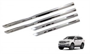 Side beading for cars - Trigcars Ford Endeavour New Car Steel Chrome Side Beading