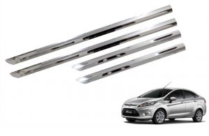 Side beading for cars - Trigcars Ford Fiesta Car Steel Chrome Side Beading