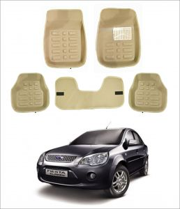 Trigcars Car Carpet Cream Car Floor/foot Mats For Ford Fiesta Old
