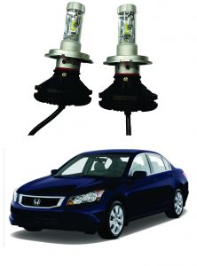 Headlights and bulbs - Trigcars Honda Accord Car Glass Led Head Light