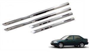 Side beading for cars - Trigcars Honda City Old Car Steel Chrome Side Beading