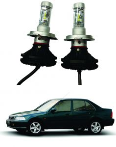 Headlights and bulbs - Trigcars Honda City Old Car Glass Led Head Light
