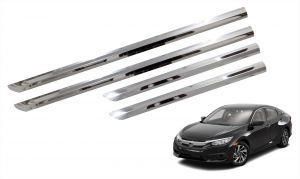 Side beading for cars - Trigcars Honda Civic Car Steel Chrome Side Beading
