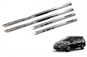 Side beading for cars - Trigcars Honda Mobilio New Car Steel Chrome Side Beading