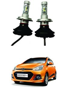 Headlights and bulbs - Trigcars Hyundai i10 Grand Car Glass Led Head Light