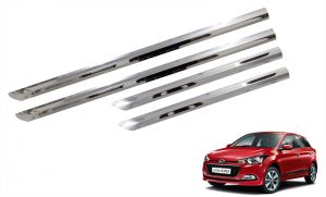 Side beading for cars - Trigcars Hyundai i20 Elite Car Steel Chrome Side Beading