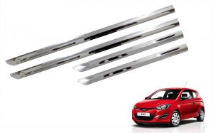 Side beading for cars - Trigcars Hyundai i20 New Car Steel Chrome Side Beading
