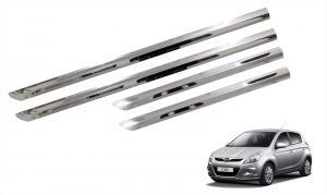 Trigcars Hyundai I20 Old Car Steel Chrome Side Beading