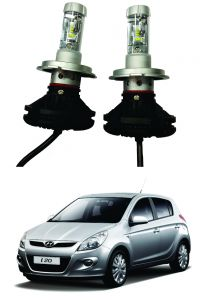 Headlights and bulbs - Trigcars Hyundai i20 Old Car Glass Led Head Light