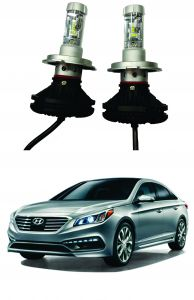 Trigcars Hyundai Sonata New Car Glass LED Head Light
