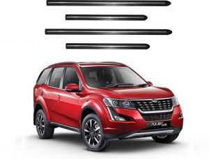 Side beading for cars - Trigcars Mahindra XUV 500 2018 Car Side Baeding