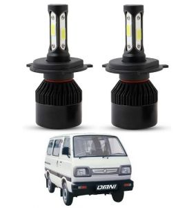 Trigcars Maruti Suzuki Omni LED Headlight Nighteye Light Set Of 2