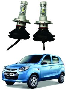 Headlights and bulbs - Trigcars Maruti Suzuki Alto 800 Type 1 Car Glass Led Head Light
