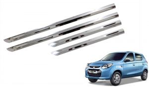 Trigcars Maruti Suzuki Alto 800 Type 1 Car Steel Chrome Side Beading