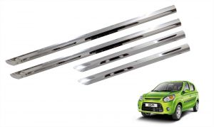 Side beading for cars - Trigcars Maruti Suzuki 800 Type 2 Car Steel Chrome Side Beading
