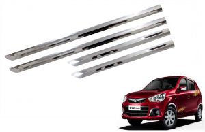 Side beading for cars - Trigcars Maruti Suzuki Alto K10 New Car Steel Chrome Side Beading