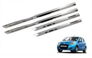 Side beading for cars - Trigcars Maruti Suzuki Astra Car Steel Chrome Side Beading