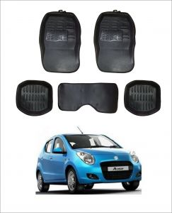 Trigcars Car Carpet Black Car Floor/foot Mats For Maruti Suzuki A Star