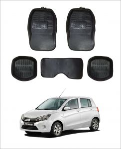 Trigcars Car Carpet Black Car Floor/foot Mats For Maruti Suzuki Celerio
