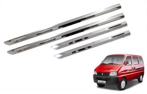 Trigcars Maruti Suzuki Eeco Car Steel Chrome Side Beading