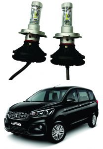 Headlights and bulbs - Trigcars Maruti Suzuki Ertiga 2018 Car Glass Led Head Light