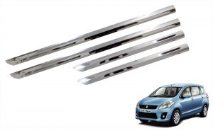 Side beading for cars - Trigcars Maruti Suzuki Ertiga New Car Steel Chrome Side Beading