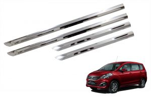 Trigcars Maruti Suzuki Ertiga Old Car Steel Chrome Side Beading