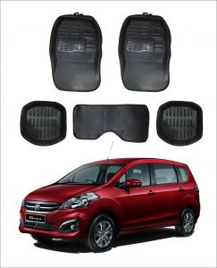 Trigcars Car Carpet Black Car Floor/foot Mats For Maruti Suzuki Ertiga Old