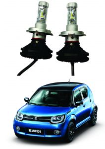 Trigcars Maruti Suzuki Ignis Car Glass LED Head Light