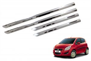 Side beading for cars - Trigcars Maruti Suzuki Ritz New Car Steel Chrome Side Beading