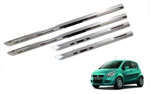Trigcars Maruti Suzuki Ritz Old Car Steel Chrome Side Beading