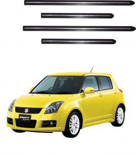 Side beading for cars - Trigcars Maruti Suzuki Swift 2015-2016 Car Side Beading