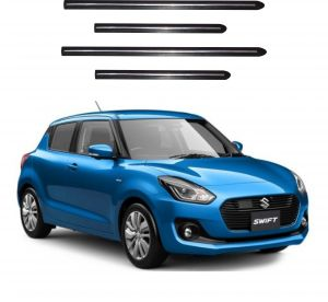 Side beading for cars - Trigcars Maruti Suzuki Swift 2018 Car Side Beading