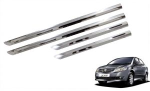Trigcars Maruti Suzuki Sx4 Car Steel Chrome Side Beading
