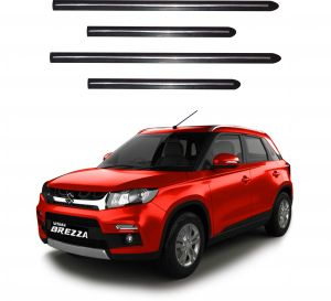 Side beading for cars - Trigcars Maruti Suzuki Vitara Brezza Car Side Beading
