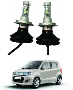 Headlights and bulbs - Trigcars Maruti Suzuki WagonR Stingray Car Glass Led Head Light