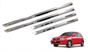 Side beading for cars - Trigcars Maruti Suzuki Zen Car Steel Chrome Side Beading