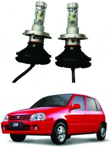 Headlights and bulbs - Trigcars Maruti Suzuki Zen Car Glass Led Head Light