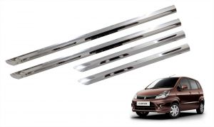 Side beading for cars - Trigcars Maruti Suzuki Zen Estilo Car Steel Chrome Side Beading