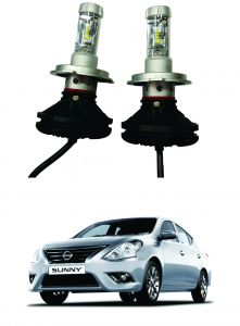 Trigcars Nissan Sunny Car Glass LED Head Light