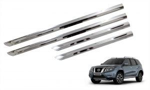 Side beading for cars - Trigcars Nissan Terrano Car Steel Chrome Side Beading