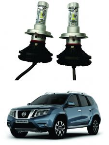 Trigcars Nissan Terrano Car Glass LED Head Light