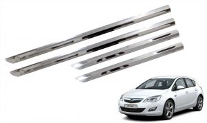 Trigcars Opel Astra Car Steel Chrome Side Beading