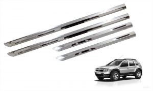 Trigcars Renault Duster Car Steel Chrome Side Beading